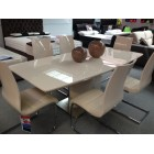 Fountain Extending Dining Table &amp; 4 Chairs